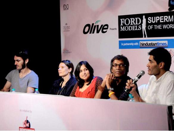 Manish Malhotra judges Ford Super Model auditions