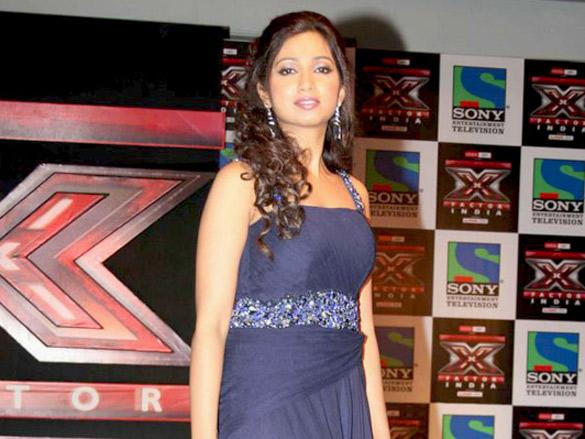 Sonu Nigam and Sanjay Leela Bhansali at 'X Factor India' launch