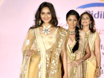 Photo Of Madhoo,Gautami Kapoor From The Kajol and Vivek Oberoi walk the ramp at Pidilite-CPAA charity fashion show