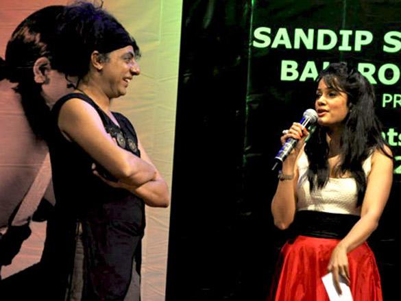Vidya Malvade at Sandip Soparrkar's Ballroom Studio 2011