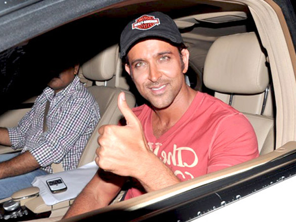 Hrithik Roshan shoots for Liberty Shoes