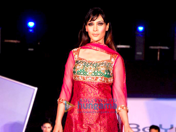 Udita Goswami On The Ramp At The Launch Of Be Yu