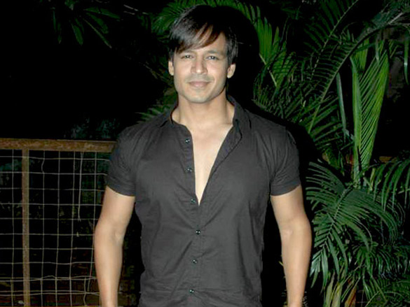 Vivek Oberoi on sets of ad shoot