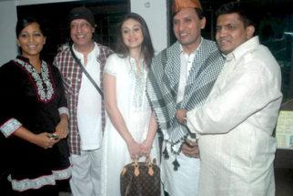 Photo Of Meghna Naidu,Bali Brahmabhatt,Shefali Jariwala,Shakeel Saifee From The Bollywood celebs at Iftar party hosted by Shakeel Saifee
