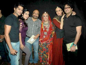 Photo Of Karnvir Bohra,Teejay Sidhu,Govind Nihalani,Ila Arun,Ishita Arun From The Ila Arun and Teejay Sidhu's play 'Mareechika'