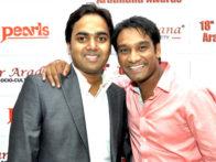 Photo Of Vishal Sharma,Master Saleem From The 18th Sur Aradhana Awards held at Shri Fort Auditorium