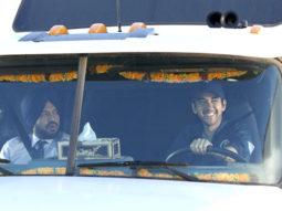 Movie Still From The Film Speedy Singhs,Gurpreet Guggi,Vinay Virmani