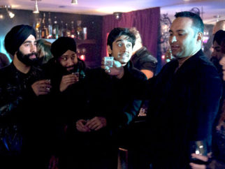 Movie Still From The Film Speedy Singhs,Vinay Virmani,Russell Peters