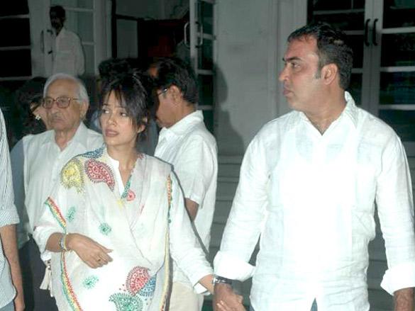 Bollywood celebs at Surinder Kapoor's prayer meet