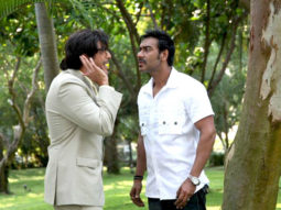 Movie Still From The Film Rascals,Chunky Pandey,Ajay Devgn