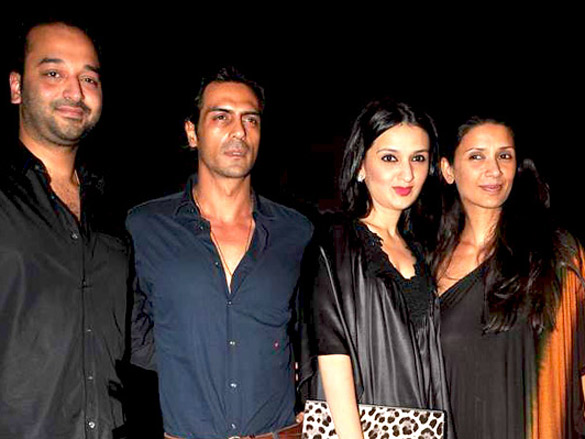 Arjun Rampal, Ekta and Neetu at Volkswagen Planet launch