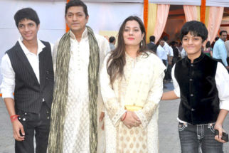 Photo Of Aadesh Shrivastav,Vijeyta Pandit From The Bachchans launch 'Hanuman Chalisa' album