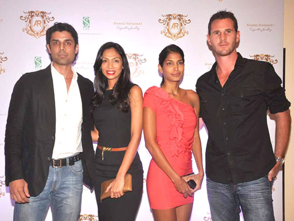 Leading models at Anand Ranawat's jewellery collection launch