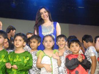 Photo Of Nargis From The Rajneesh Duggall and Nargis at 'Garodia International School Annual Day'