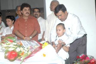 Photo Of Nandita Puri,Ashok Pandit From The Tina Ambani at Bhupen Hazarika's prayer meet