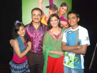 Photo Of Aanchal Munjal,Vivek Mushran,Shweta Tiwari From The Sony TV launches TV serial 'Parvarish'