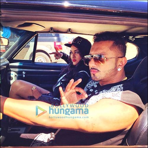Sonakshi Sinha, Honey Singh