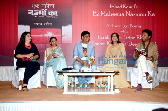 Farah Khan, Deepti Naval, Irshad Kamil, Sonam Kapoor, Irrfan Khan