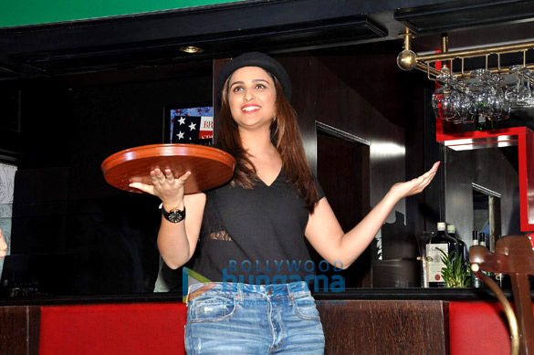Parineeti Chopra at 'The Mugshot Cafe' promotion in Pune