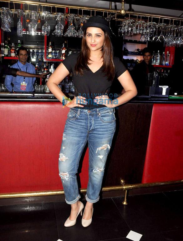 Parineeti Chopra at 'The Mugshot Cafe' promotion in Pune