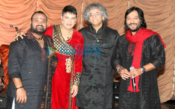 Selva Ganesh, Sandeep Mahavir Kathak, Taufiq Qureshi, Roop Kumar Rathod