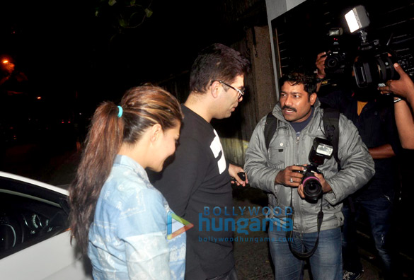 Kareena Kapoor Khan, Karan Johar & Jacqueline Fernandez at Zoya Akhtar's get-together