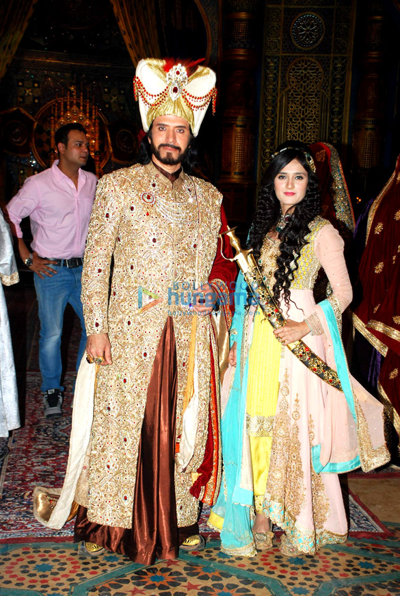 Launch of the TV serial 'Razia Sultan'