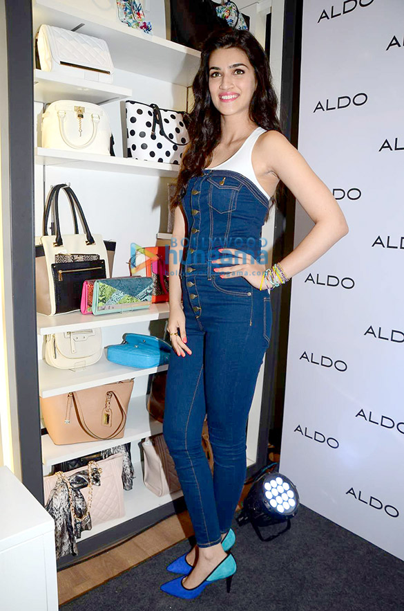 Kriti Sanon visits Aldo showroom