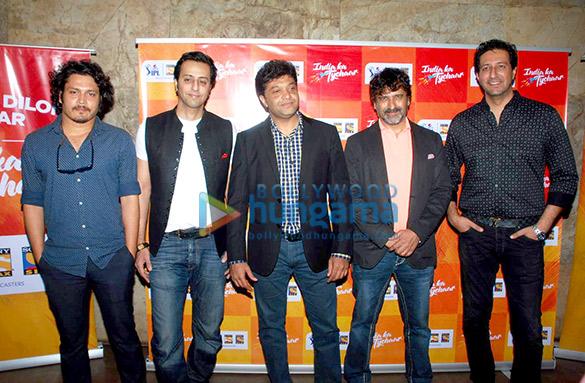 Salim Merchant & Sulaiman Merchant at the music launch of Sony Max IPL – Season 8