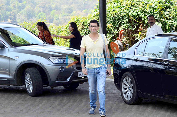 Aamir Khan's 50th birthday bash at Hilton Shilim Lonavla