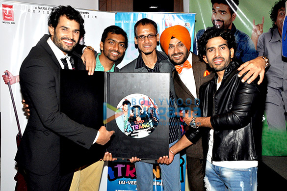 Audio release & first look launch of 'Three Atrangi Jai Veeru Gabbar'