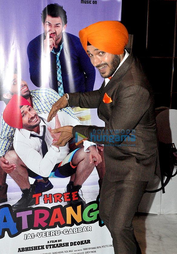 Audio release & first look launch of 'Three Atrangi Jai Veeru Gabbar'