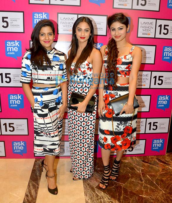 Vishakha Singh, Krystle D'Souza, Mouni Roy
