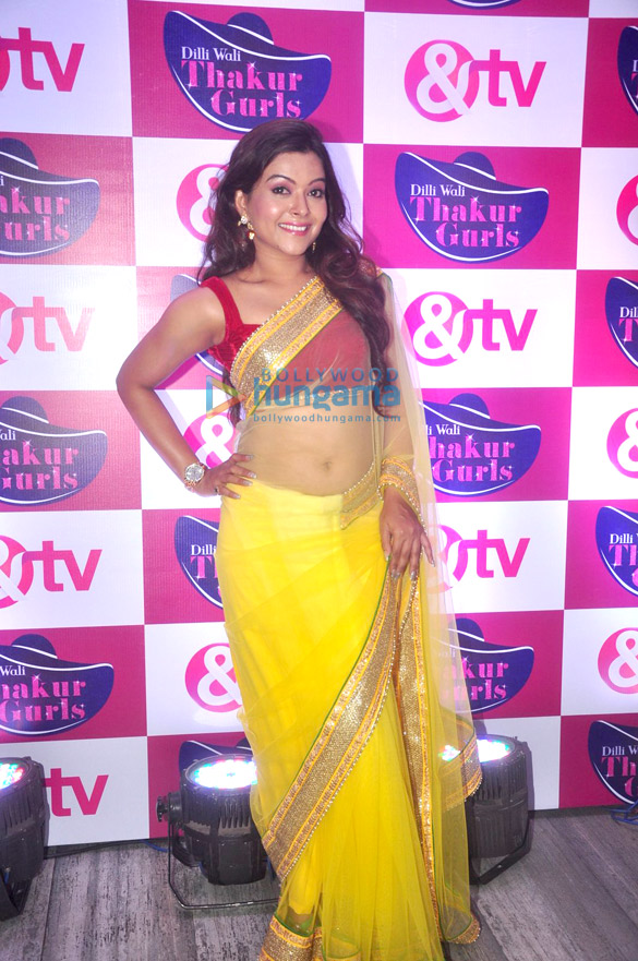 Launch of &TV's new show 'Dilli Wali Thakur Gurls'