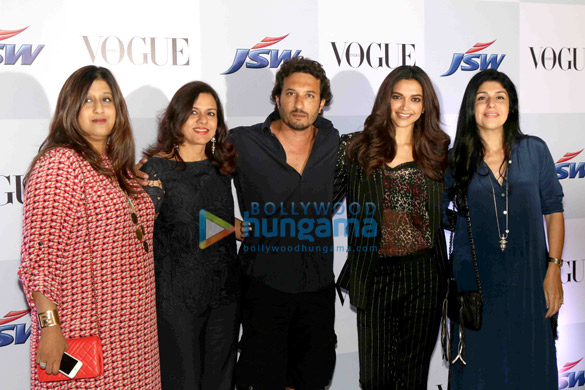 Priya Tanna, Sangita Jindal, Homi Adajania, Deepika Padukone, Anaita Shroff Adajania