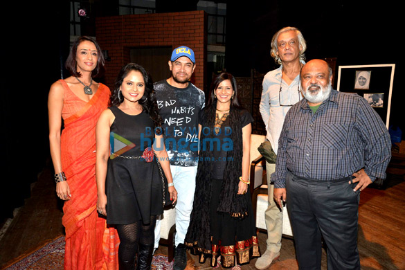 Achint Kaur, Sadia Siddiqui, Aamir Khan, Preeti Mamgain, Sudhir Mishra, Saurabh Shukla