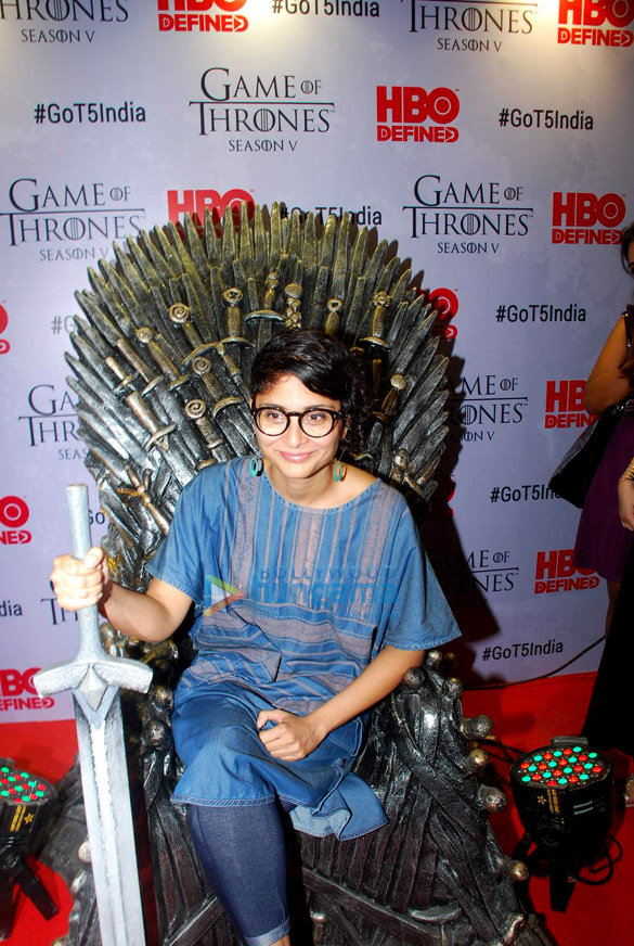 Kiran Rao and other celebs graces the screening of Game of Thrones at Lightbox