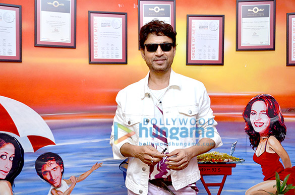 Irrfan Khan promotes 'Piku' at 93.5 Red FM
