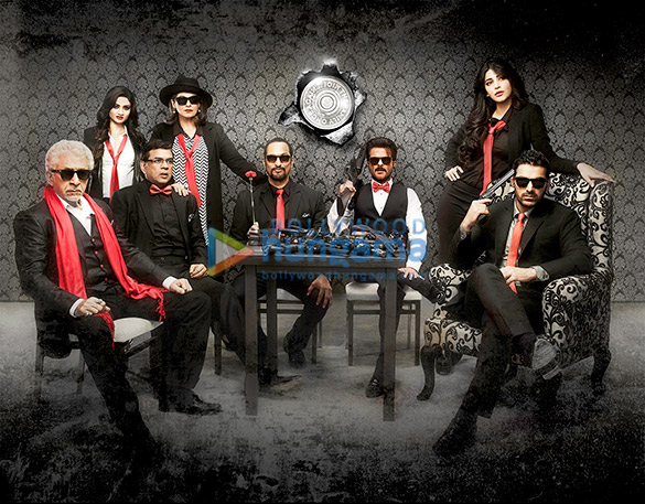 Naseeruddin Shah, Sara Loren, Paresh Rawal, Dimple Kapadia, Nana Patekar, Anil Kapoor, Shruti Haasan, John Abraham