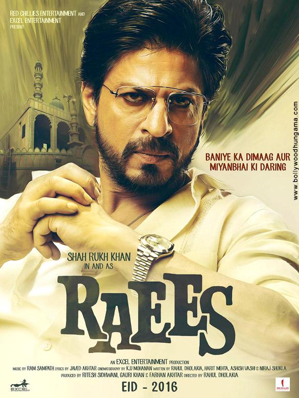 RAEES (2017) con SRK + Jukebox + Sub. Español + Online 429845074