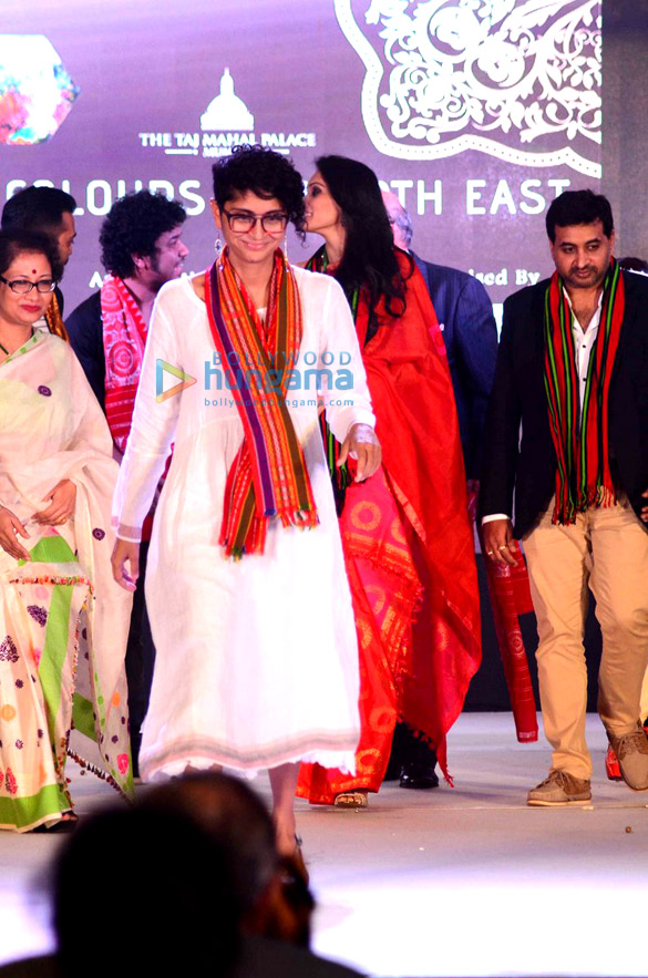 Kiran Rao & others at Colors of North East Fashion show