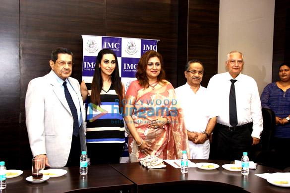 Karisma Kapoor graces IMC Ladies' Wing's Women's Wellness programme