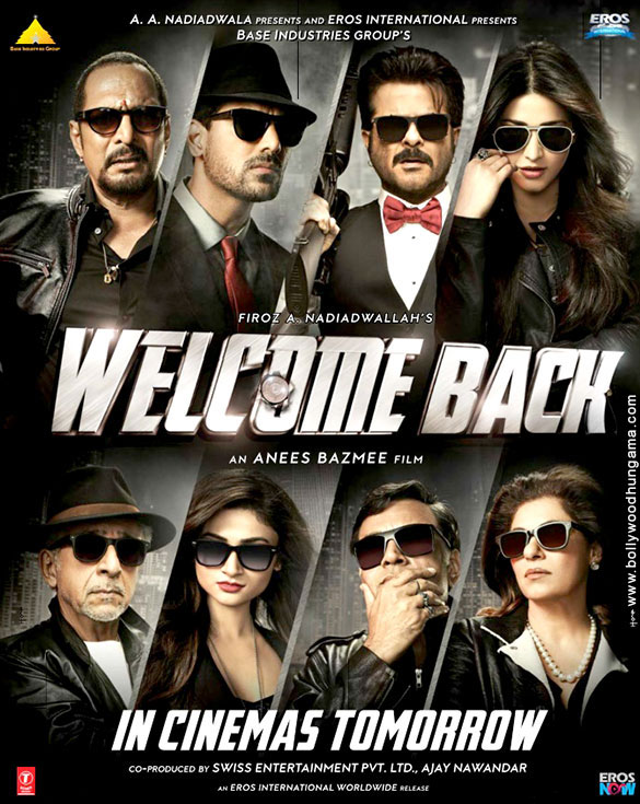 First Look Of The Movie Welcome Back