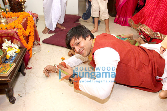 Vivek Oberoi's Ganesha Visarjan
