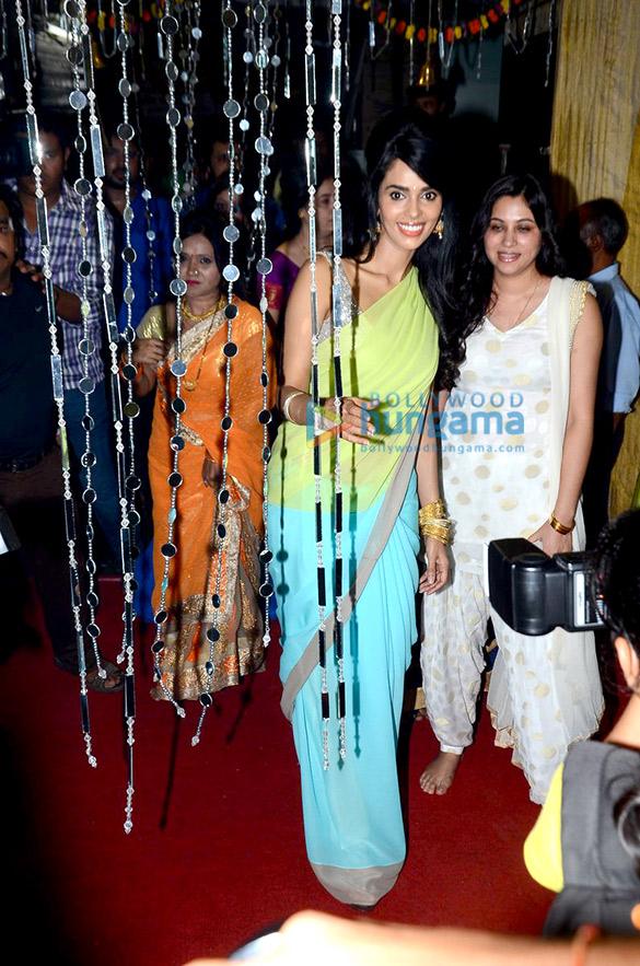 Mallika Sherawat seeks Ganesha's blessings