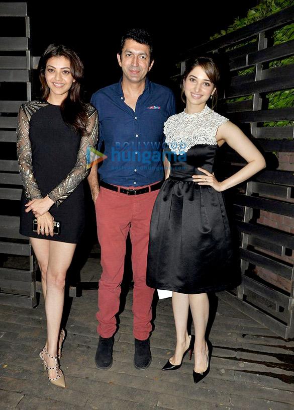 Tamannaah Bhatia & Kajal Aggarwal grace Gauri Khan's store preview