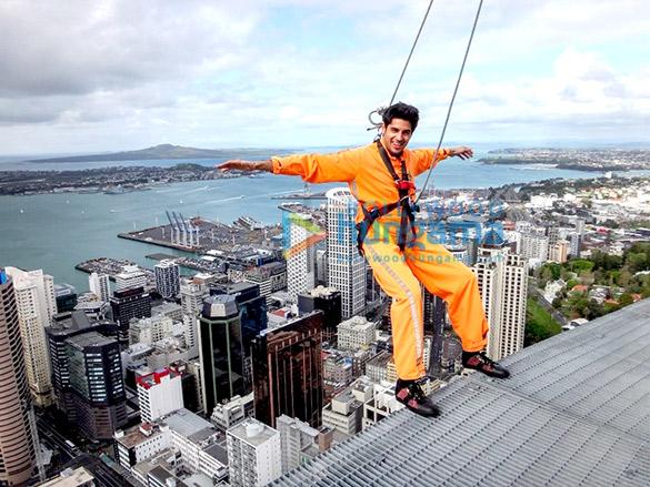 Sidharth Malhotra's New Zealand adventures