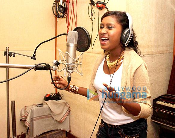 Sanchiti Sakat and Shabab Sabri dub for new single Love Hua at Kuber studio