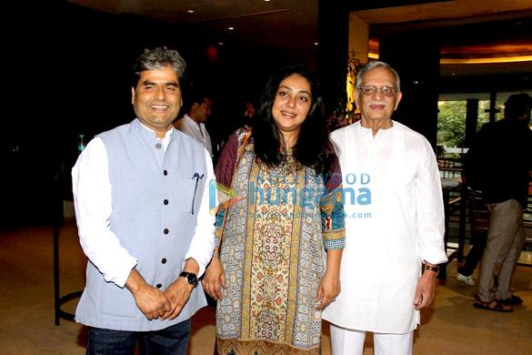 Vishal Bhardwaj, Meghna Gulzar, Gulzar