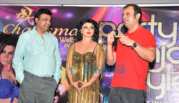 Manik Soni, Rakhi Sawant, DJ Sheizwood